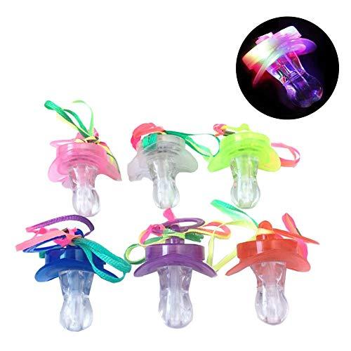 Bloomma LED-Schnuller,im Dunkeln leuchten Schnuller Blinkender Schnuller Spielzeug Baby Dusche Spielzeug für Kinder