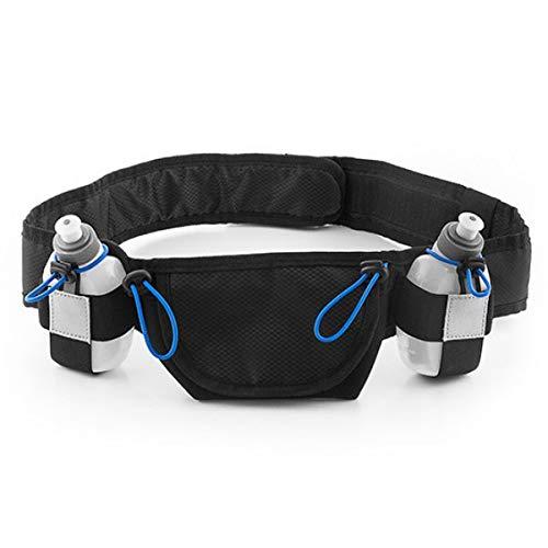 Eurowebb Sportieve drinkgordel met klittenbandsluiting en elastiek, drinkfles, fitness, riem, sporten, lopen