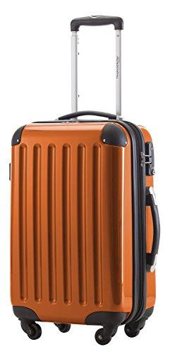 """'Capitale valigetta Alex 42litri con lucchetto a combinazione in 18diversi colori con valigetta rosso ciondolo Meins """" nero Orange 42 Litri"""