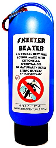 TRASCENTUALS Natural Insect Repellent Lotion Skeeter Beater Uses Citronella Essential Oil as Active Ingredient