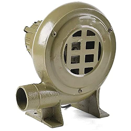 FHKBK Soplador de Aire centrífugo eléctrico, sopladores de Barbacoa de jardín Ventilador...
