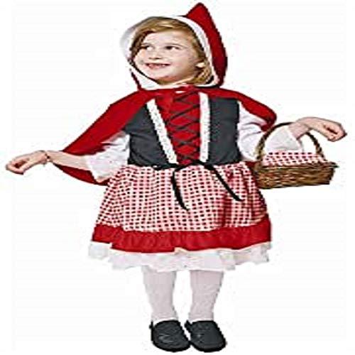 Dress Up America Disfraz de Caperucita Roja para Niños Lil
