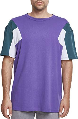 Urban Classics 3-Tone tee, Camiseta para Hombre