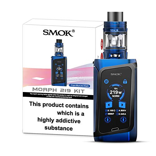 SMOK Morph 219 TFV Mini V2 E Zigaretten Kit, blau, 2 ml