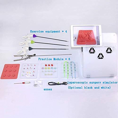 Set Van laparoscopische chirurgie Training Box Simulated Chirurgische instrument 4 instrument trainer chirurgisch instrument bevat 5 opleidingsmodules