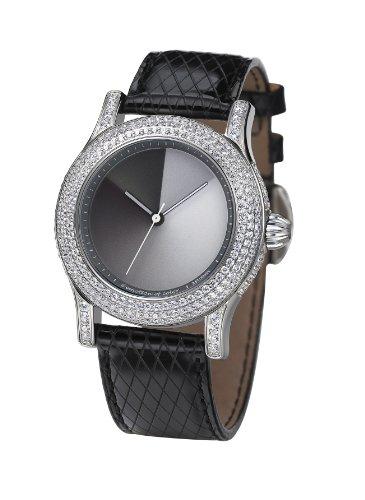 Rainbow Watch Extravaganza MAclassic EX44-LB-MAcl - Reloj Unisex automático, Correa de Piel Color Negro