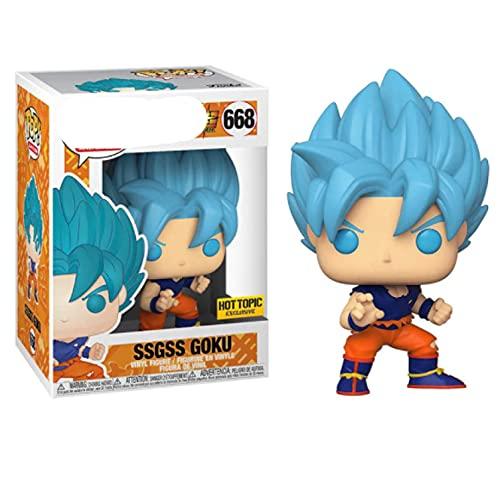 Anime Pop Dragon Balles Figura De Vinilo Juguetes Ssgss Goku Super Saiyan Son Goku Figura De Acción Juguetes Regalos Divertidos para Niños Niños 10Cm