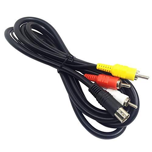 Afunta 6Füße Standard AV-Kabel Cinch Verbindung Kordel für Sega Genesis 2& 3