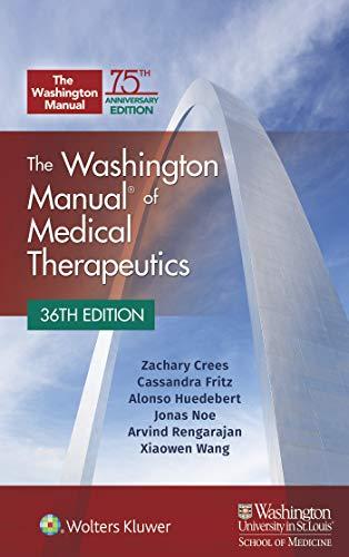 The Washington Manual of Medical Therapeutics Paperback (English Edition)