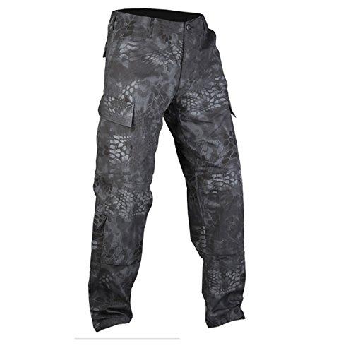 Mandra Camouflage ACU Combat Trousers (Medium (32-34 inch), Night Camouflage)
