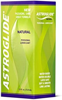 Astroglide Natural Personal Lubricant 2 5 OZ Pack of 6 product image