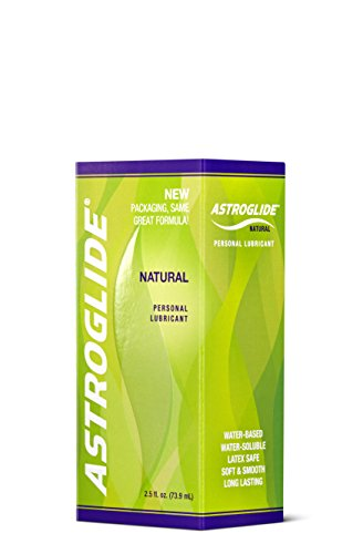 Astroglide Natural Personal Lubricant 2.50 oz (Pack of 3)
