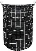 HOUZE LN-5152 Laundry Bag, Small, Black Checkers
