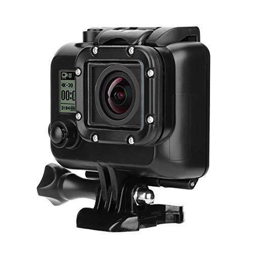 DAUERHAFT La Cubierta Protectora de revestimientos de 3 Capas adopta una Funda Impermeable para cámara de Material Premium, para Go-Pro Hero 3/3 + / 4