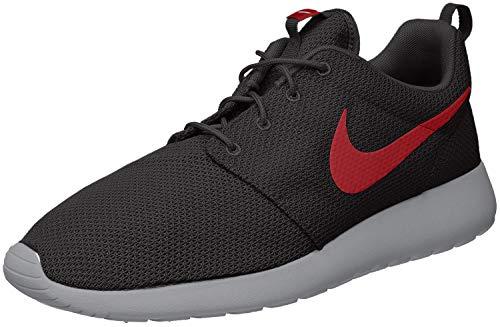Nike Men's Roshe One Shoe Black/Solar Red/Pure Platinum Size 12 M US