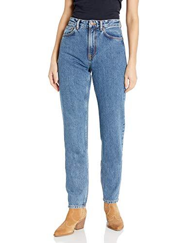 Nudie Jeans Damen Breezy Britt Friendly Blue Jeans, Freundliches Blau, 36W x 32L