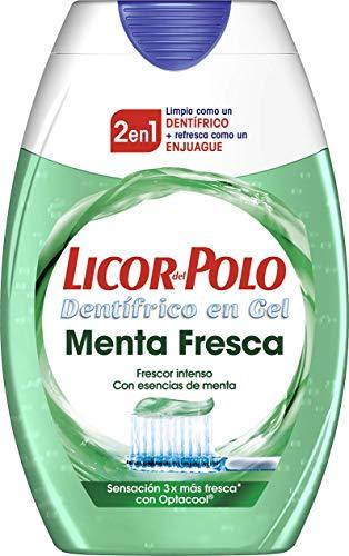 Licor del Polo - Pasta de Dientes 2 en 1 Menta Fresca...