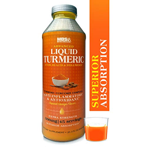 Advanced Liquid Turmeric Curcumin for Health &...
