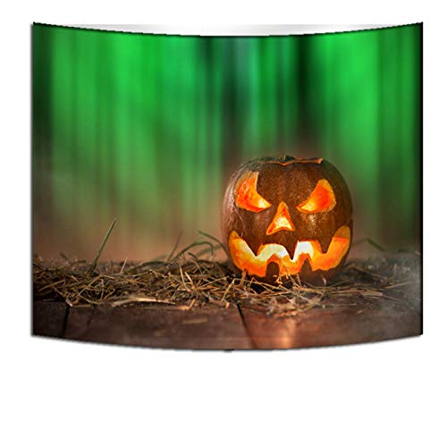 DHHY Polyester 3D Printing Tapestry, Halloween Series Digital Printing Tapestry Tapestry, Halloween Home Decoration Tapestry