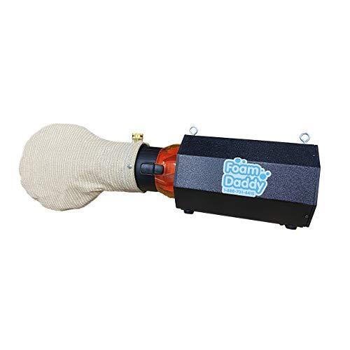 Easy Standard Foam Machine (lightweight), Gel included Makes 200 gallons of Production, Foam Party Foamdaddy
