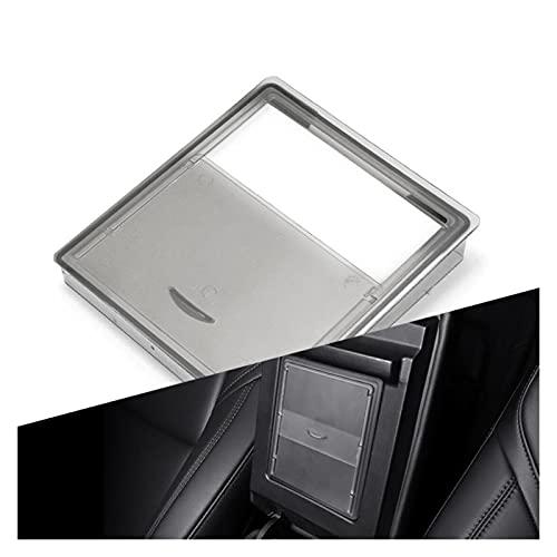 FWJSDPZ Caja De Almacenamiento Oculto Caja De Almacenamiento Del Apoyabrazos Central Para Tesla Modelo 3 Holder Hidden Center Console Organizer Model3 Accesorios Para Automóviles