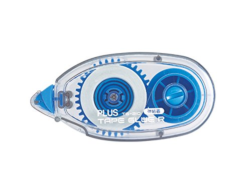 PLUS Japan Adesivo roller R permanente, usa e getta, blu