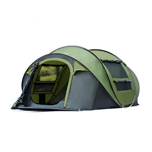 TENT-Z Tenda all'aperto per 3-4 Persone Tenda da Campeggio Impermeabile e Antivento Tenda Automatica ad Apertura Rapida Adatto per Viaggi di Quattro Stagioni, Sport all'Aria Aperta