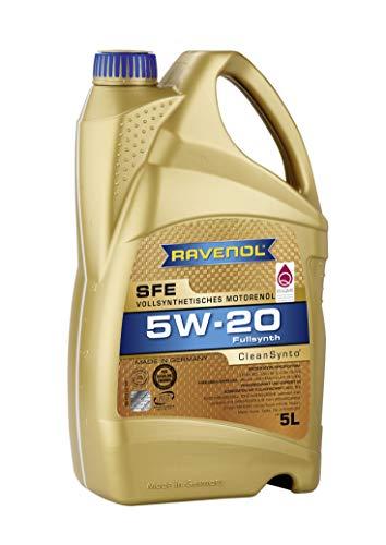 RAVENOL Super Fuel Economy SFE SAE 5W-20 /5W20 Vollsynthetisches Motoröl (5 Liter)