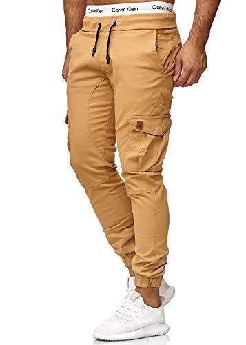 OneRedox Herren Chino Pants | Jeans | Skinny Fit | Modell 3301 Sand 29