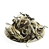 GOARTEA 100g (3.5 Oz) Premium Yunnan Organic Moonlight White Buds puer Pu'er Puerh Tea Loose Leaf Raw Tee