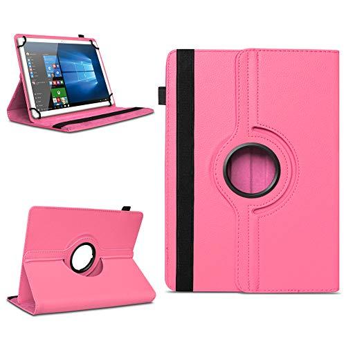 na-commerce Telekom Puls Tablet Hülle Tasche Schutzhülle Cover 360° Drehbar Hülle Schutz Etui, Farben:Pink