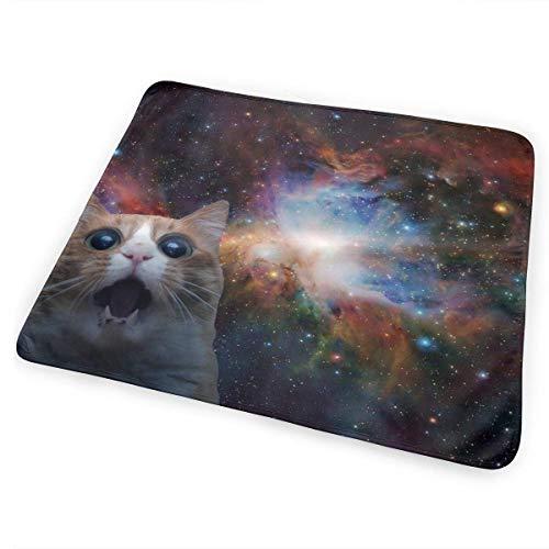 Voxpkrs Wickelunterlage Windelwechselmatte Tumblr Static Space Cat Huge 25.5 x 31.5 Inches