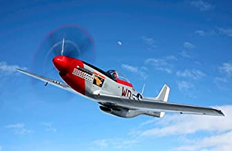 Posterazzi Poster Print Collection a P-51D Mustang in Flight Near Hollister, California Scott Germain/Stocktrek Images, (1...