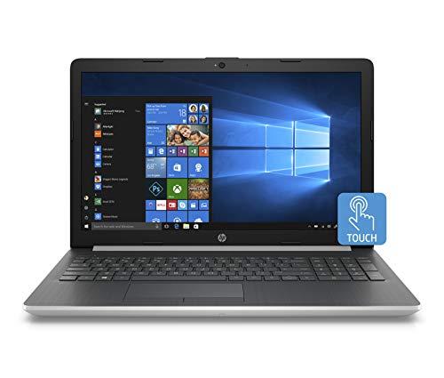 HP 15 Graphite Mist Laptop Touchscreen Intel Core i5-8250U 3.40 GHz 4GB SDRAM + 16GB Intel Optane Memory, 1TB HDD DVD, HD Webcam, Windows 10 (Renewed)