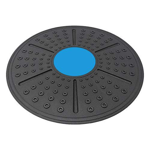 Tabla de Equilibrio Profesional,Plataforma de Equilibrio de Fitness,Disco oscilante para Entrenamiento de Estabilidad y rehabilitación de Ejercicio físico, Yoga Ejercicios en casa (Azul)