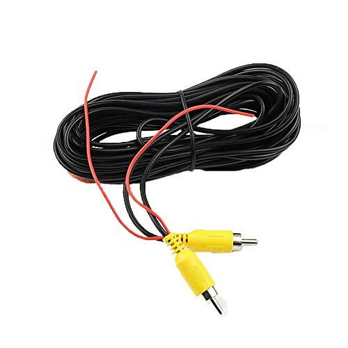 RCA Verlängerung Kable für Auto Einparkhilfe Rückfahrkamera LKW Monitor Kamera CCTV Anschlusskabel mit Rot Erfassungsdraht Trigger 10M /30FT