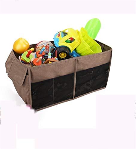 J- Organiseurs Pour Voiture Pliable Portable Multi Compartments Trunk Organisateur, Noir Boîte De Rangement Voiture (Color : G)