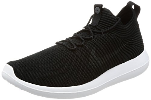 Nike Men's Roshe Two Flyknit V2 Trainers, Black (Black/Black/White/Anthracite), 7.5 UK 42 EU