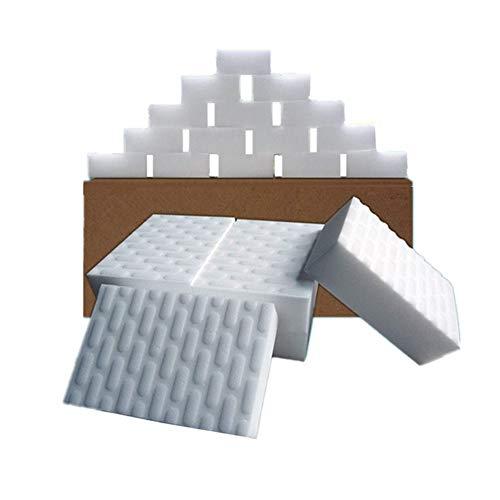 メラミンスポンジ キッチンスポンジ 2倍圧縮 大量 掃除 汚れ落とし 10x6x2cm 20個セット