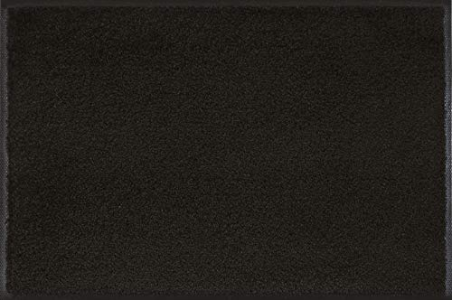 Wash+Dry, Polyamid, Schwarz, 60x90 cm