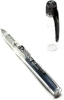 PLATINUM 日本白金 Preppy万年笔03 彩色墨水笔(钢笔) PPQ-200#1(黑色)1支/袋
