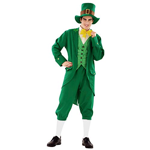 Desconocido My Other Me-201098 Disfraz de irlandés para hombre, M-L (Viving Costumes 201098)