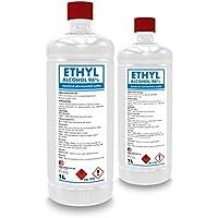 Alcohol desnaturalizado 96% de etanol etilo 2000 ml