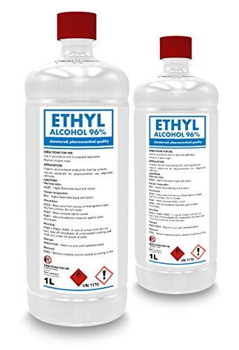 2000 ml - etanol etílico - alcohol desnaturalizado 96%