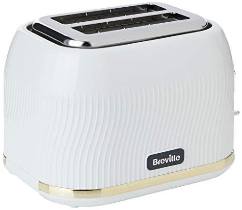 Breville VTT995 Toaster, White & Gold