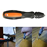 DIY Tool Hand Drill, Suit for 0.5-8mm Mini Hand Drill with Keyless Chuck