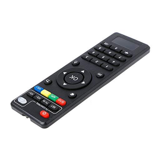 smallJUN IR Fernbedienung Ersatz für TV Box H96 Pro +, M8N, M8C, M8S, V88, X96 Fernbedienung schwarz