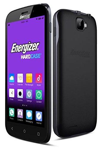 Energizer S500E Smartphone portable débloqué 3G (Ecran: 5 pouces - 8 Go - Double SIM - Android) Noir