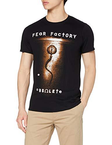 Plastic Head Herren Fear Factory Obsolete TSFB T-Shirt, Schwarz, XL