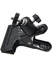 MyArmor どこにでも挟める 雲台 360度回転 1/4インチネジ カメラ ミニ 三脚 フラッシュ ホルダー ボールヘッド ブラケット カメラマウント カメラスタンド Gopro Hero/カメラ/SpeedLite/ストロボ/スピードライト/SLR/DSLR等各種撮影機材用